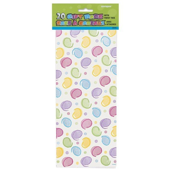 Unique Party Cello Bags - Polka Dots