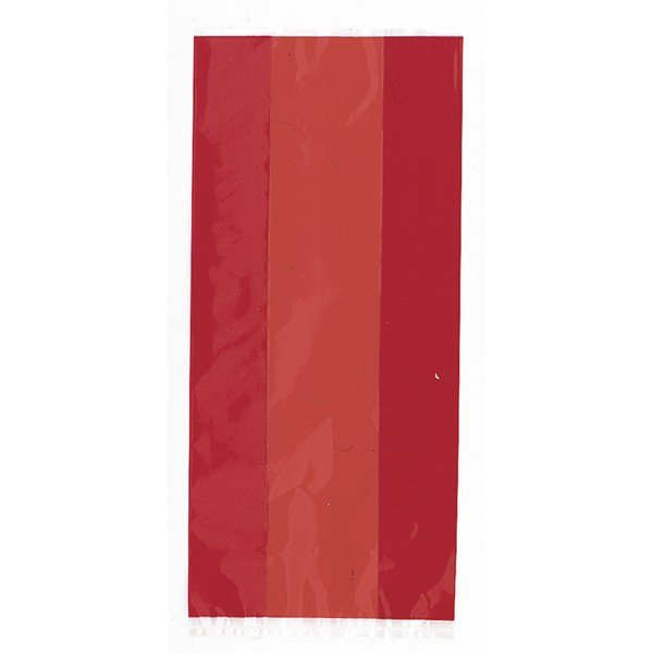 Unique Party Cello Bags - Ruby Red