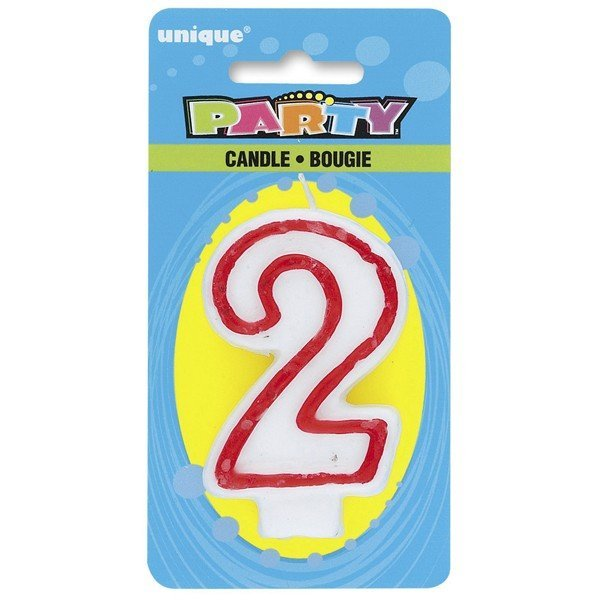 Unique Party Deluxe Number Candle - 2