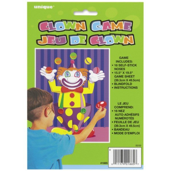 Unique Party Game - Nose On The Clown