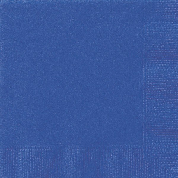 Unique Party Napkins - Royal Blue