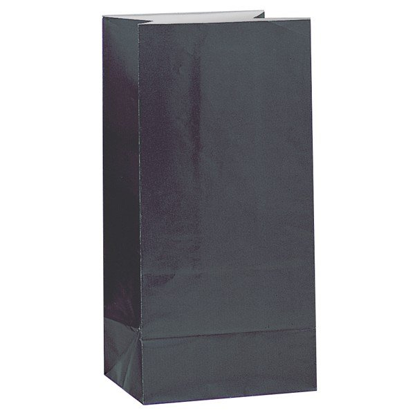 Unique Party Paper Party Bags - Black