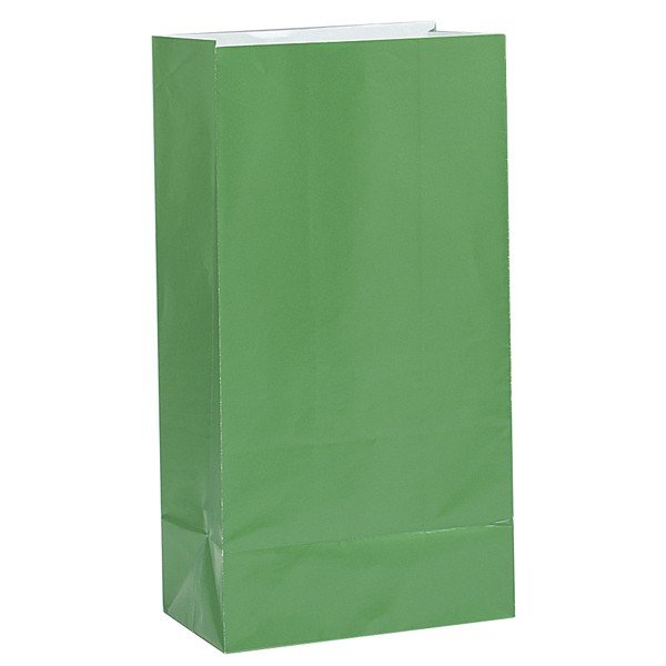 Unique Party Paper Party Bags - Green