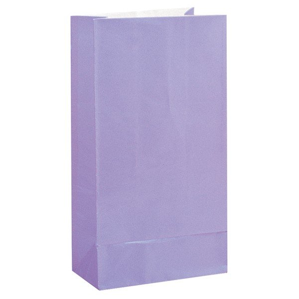 Unique Party Paper Party Bags - Lavender