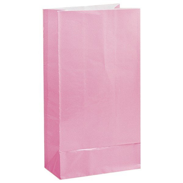 Unique Party Paper Party Bags - Pastel Pink