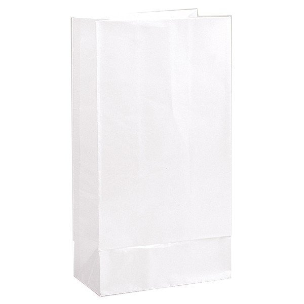 Unique Party Paper Party Bags - White