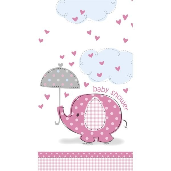 Unique Party Pink Tablecover - Umbrellaphants