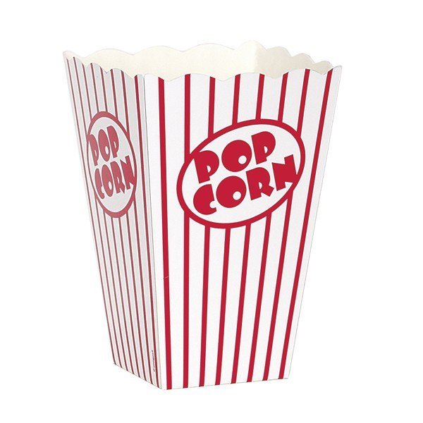Unique Party Popcorn Boxes