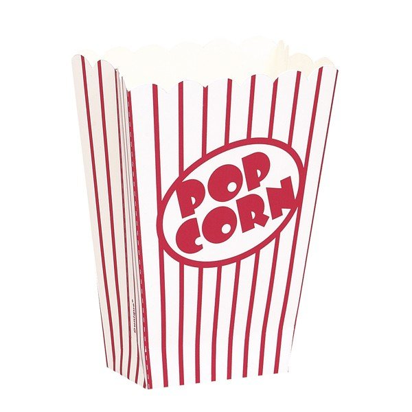 Unique Party Popcorn Boxes - Small
