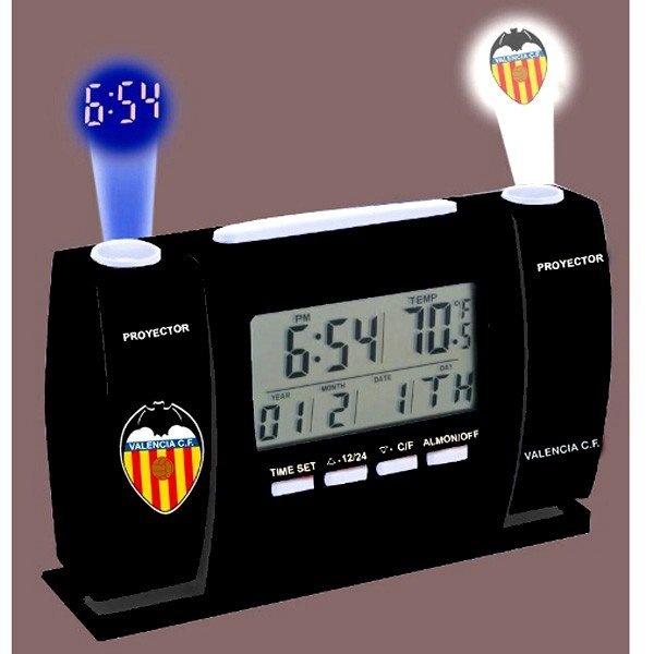 Valencia Digital Projector Clock