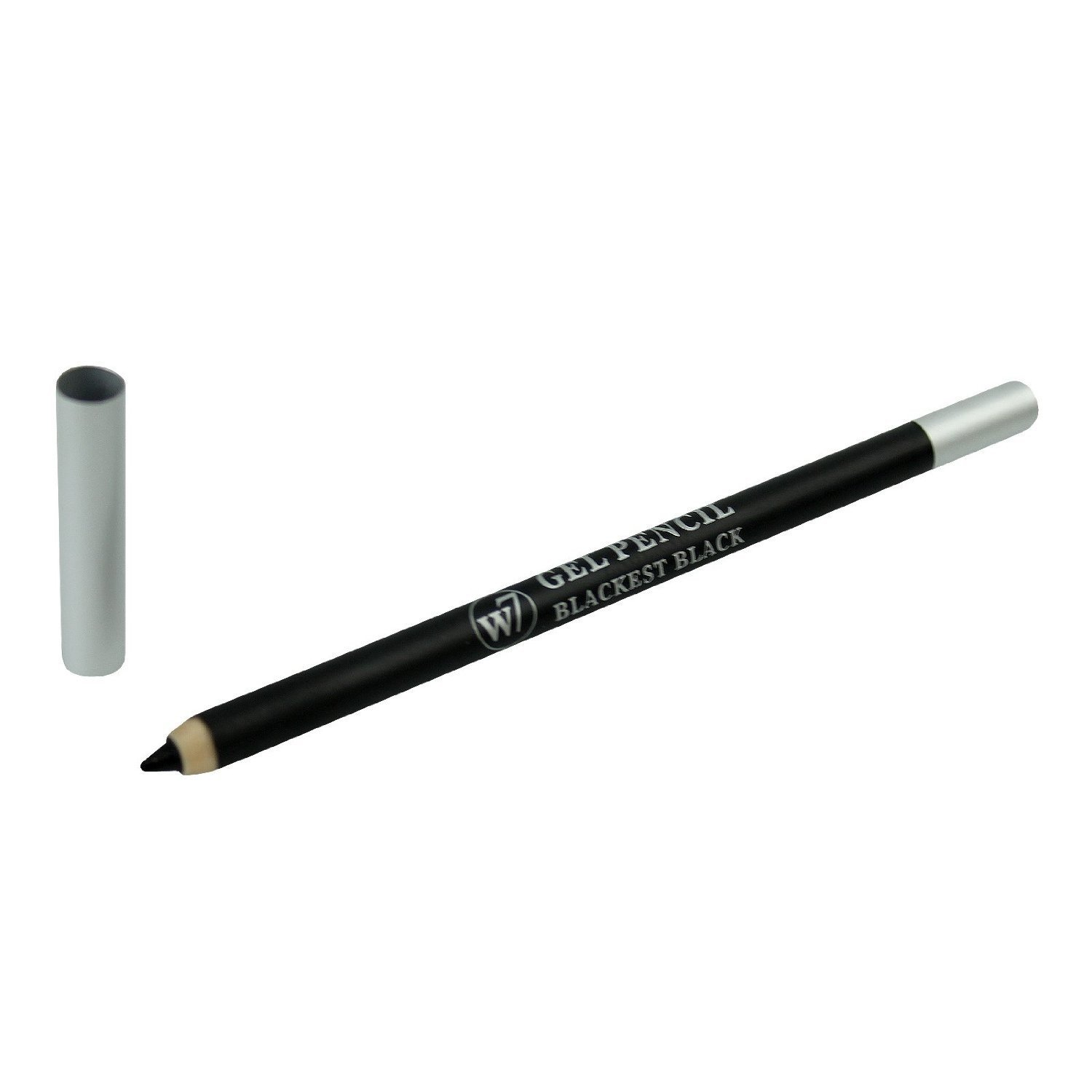 W7 Gel Eyeliner Pencil In Blackest Black