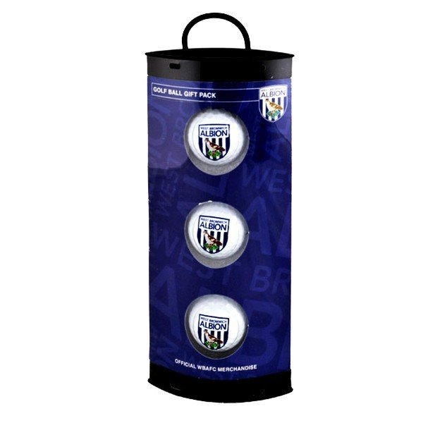 West Bromwich Albion Golf Ball Gift Pack