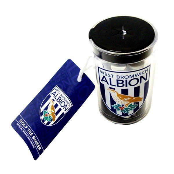 West Bromwich Albion Golf Tee Shaker