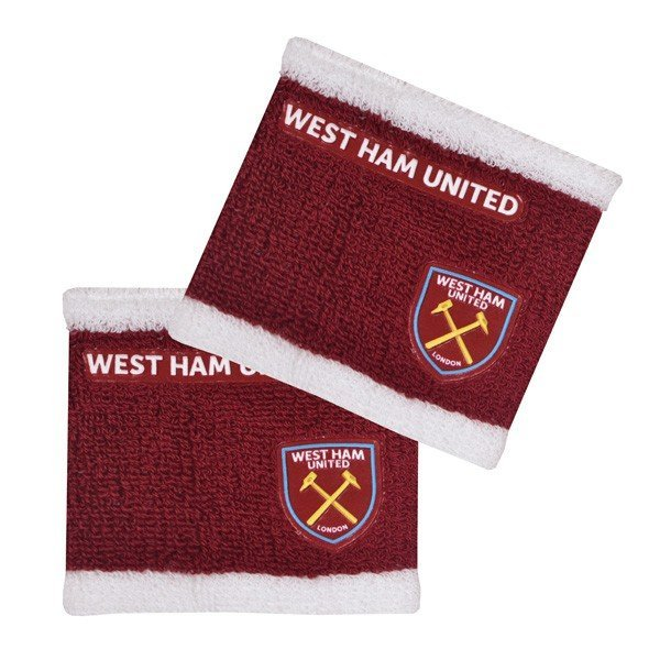 West Ham 2 Tone Wristbands - 2PK