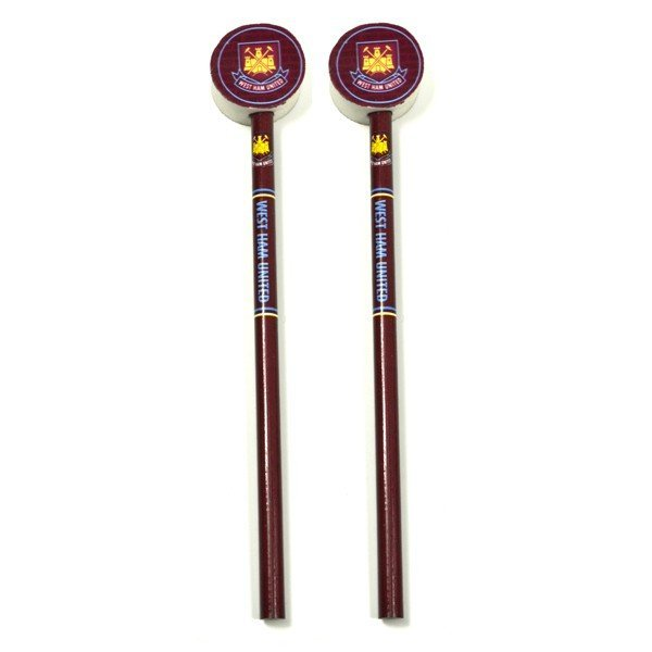 West Ham 2PK Pencil & Topper Set