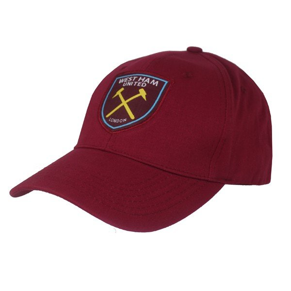 West Ham Basic Baseball Cap - Burgundy