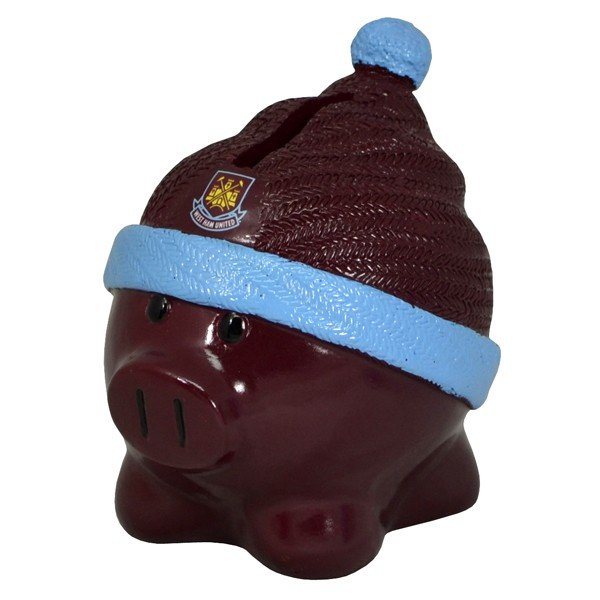 West Ham Beanie Piggy Bank