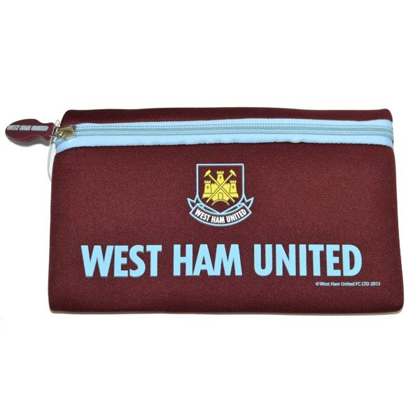West Ham Big Logo Flat Pencil Case