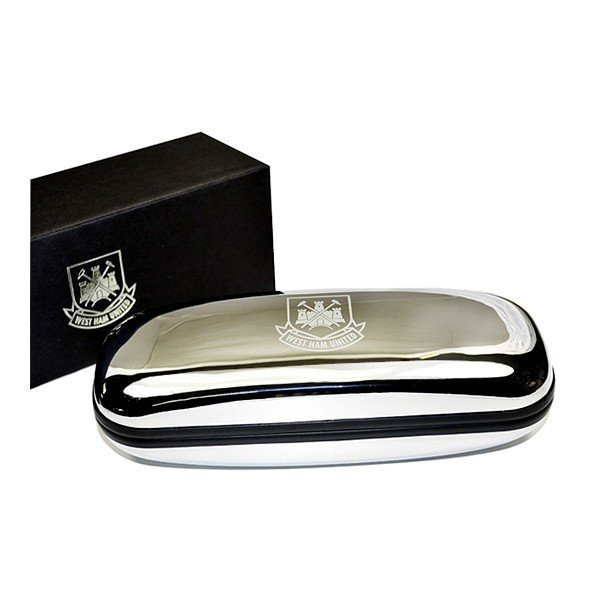 West Ham Chrome Glasses Case