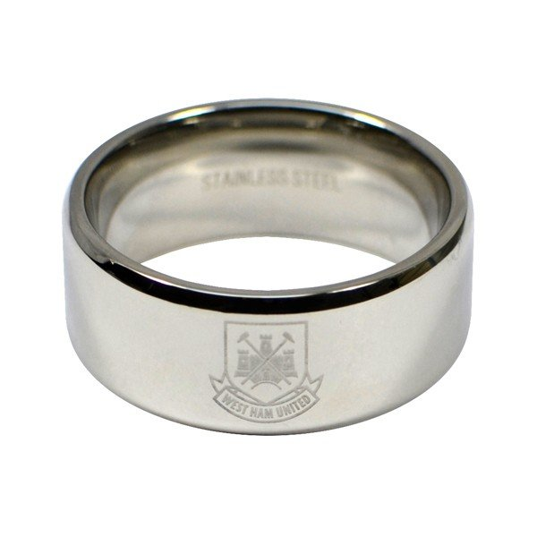 West Ham Crest Band Ring - Large
