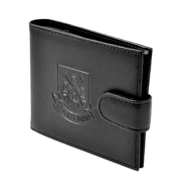 West Ham Crest Embossed Leather Wallet
