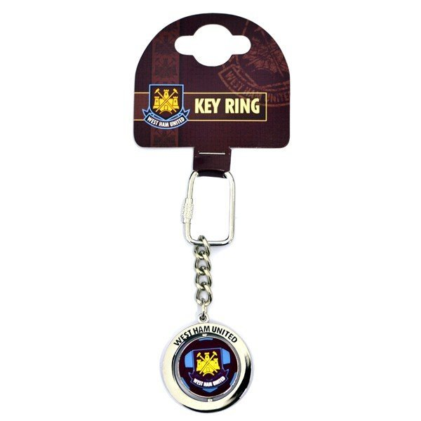 West Ham Football Spinner Keyring