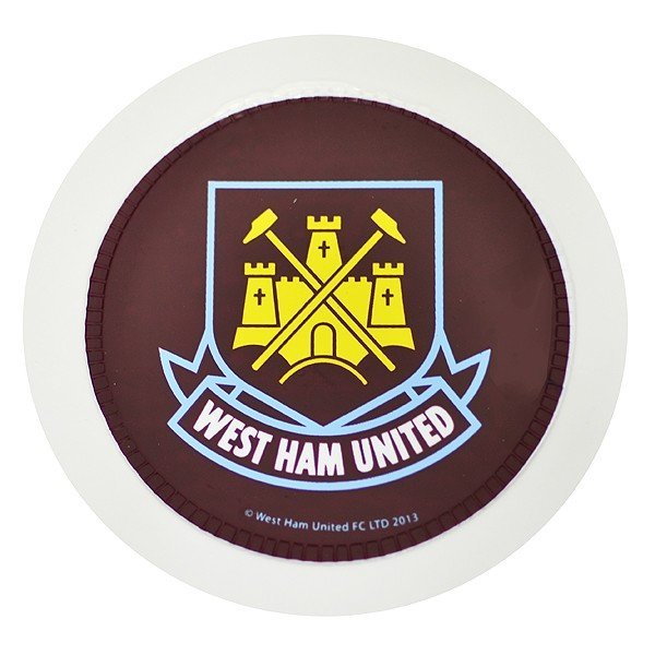 West Ham Round Tax Disc Holder