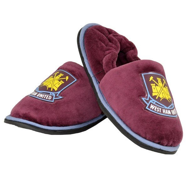 West Ham Stretch Slippers (12-13)
