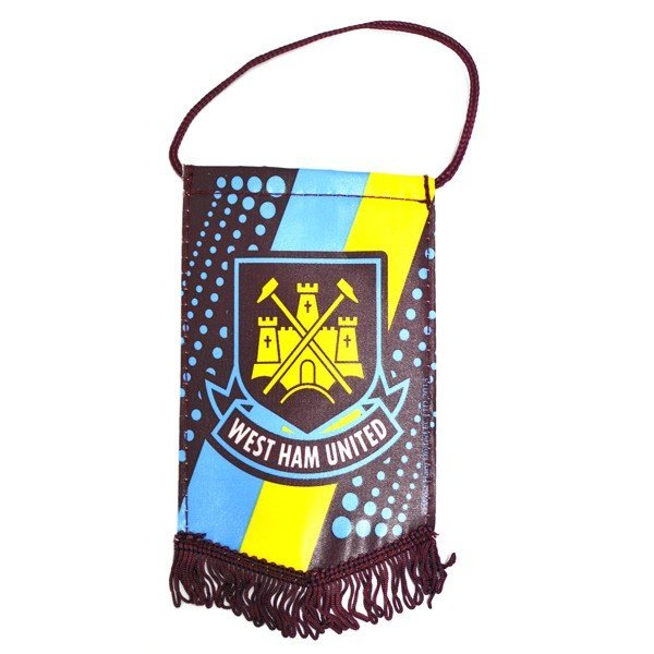West Ham Stripe Mini Pennant