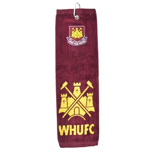 West Ham Trifold Golf Towel
