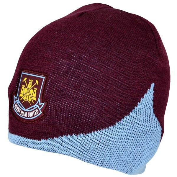 West Ham Wave Knitted Beanie Hat