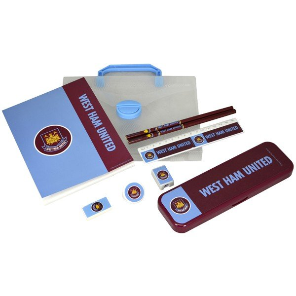 West Ham Wordmark PP Stationery Gift Set