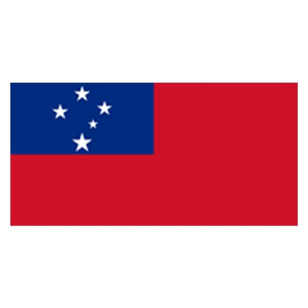 Western Samoa National Flag