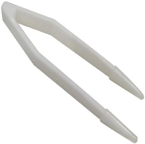 White Tweezers For Coloured Contact Lenses Handling And Hygiene