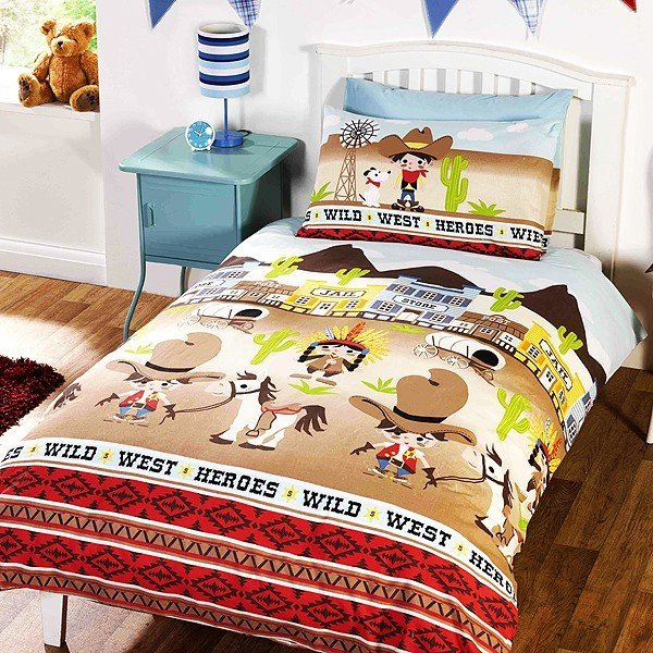 Wild West Single Duvet Set