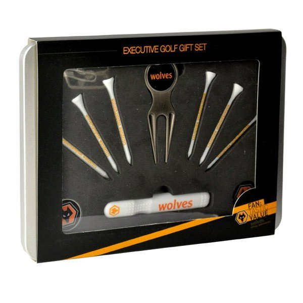 Wolves Executive Golf Gift Set