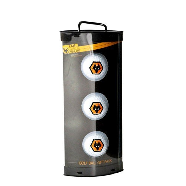 Wolves Golf Ball Gift Pack