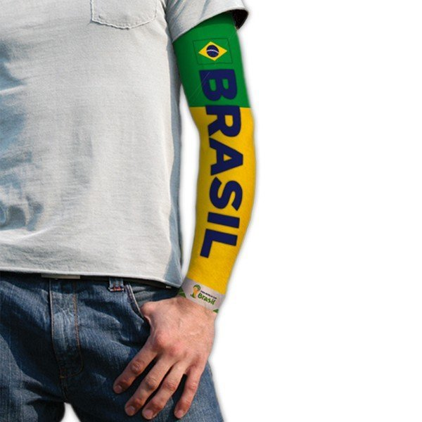 World Cup Tattoo Sleeve - Brasil