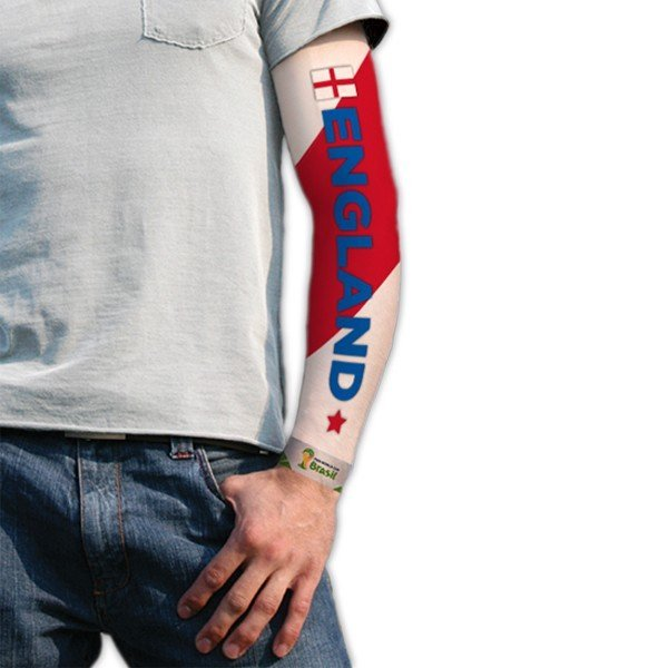 World Cup Tattoo Sleeve - England