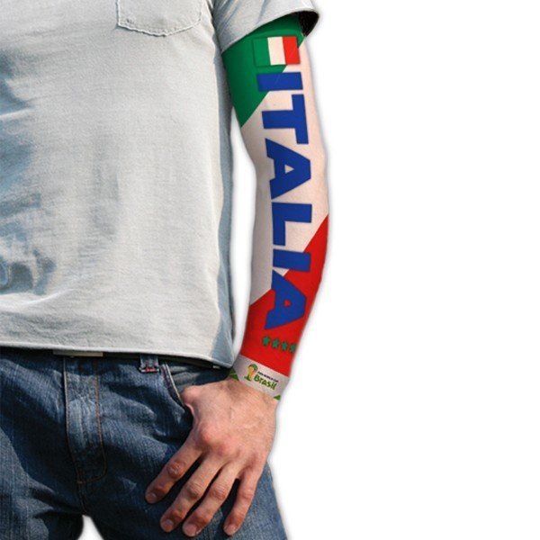 World Cup Tattoo Sleeve - Italy