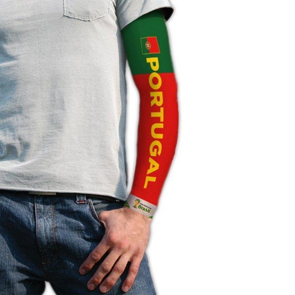 World Cup Tattoo Sleeve - Portugal