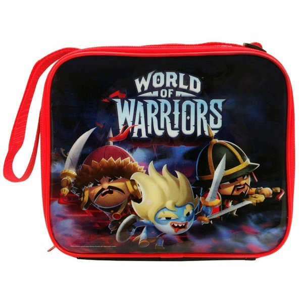 World Of Warriors Retro Lunch Bag