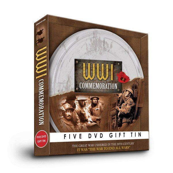 World War I Five DVD Gift Tin