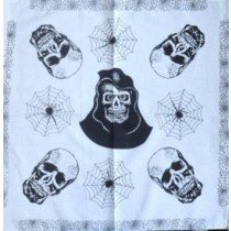 Skull Pattern Design 2 Bandana Head Scarf