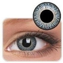 Aqua Coloured Contact Lenses 3 Tone