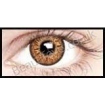 3 Tone Hazel Coloured Contact Lenses  (1 Month Lens)