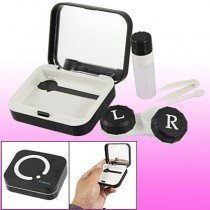 Smart Black Design Contact Lens Travel Kit