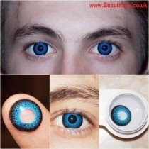 Eyelush Blue Coloured Contact Lenses