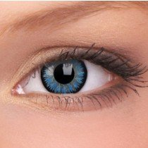 Aqua Glamour Coloured Contact Lenses (90 Day)