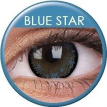 Blue Star Coloured Contact Lenses (90 Day)